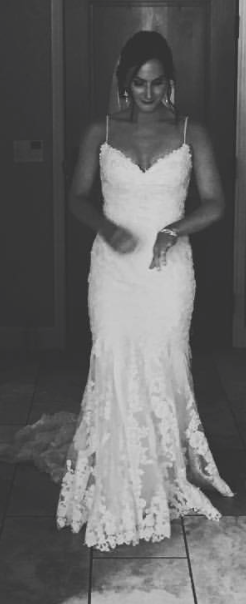 We Love This Picture Of Katie And That Were Able To Tailor Dresses For Her Friends As Well The Neckline Gown Was Reshaped Liking